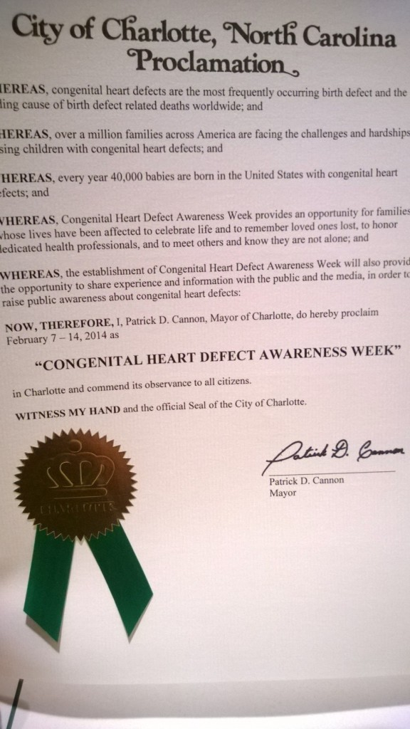 CHD Week Proc