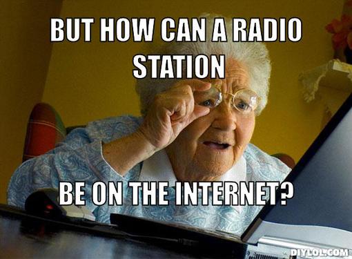 Radio Grandma Meme