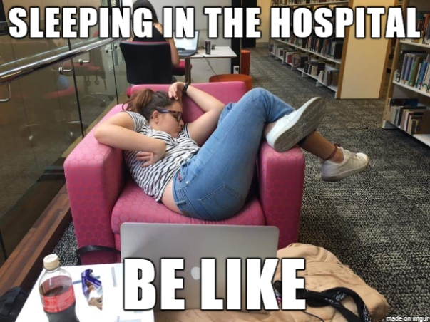 SleepingInChairMeme